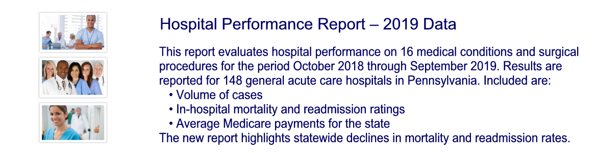 Hospital Performance Report – 2019 Data