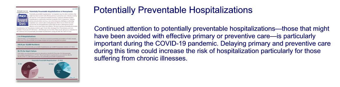 Potentially Preventable Hospitalizations