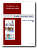 Hospital Performance Report 2019 Cover