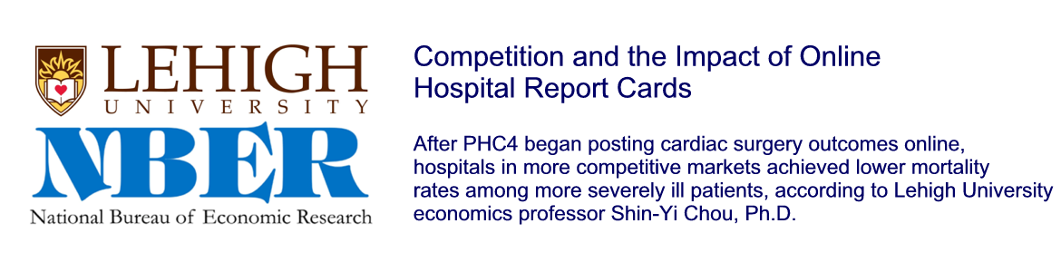 Competition and the Impact of Online Hospital Report Cards