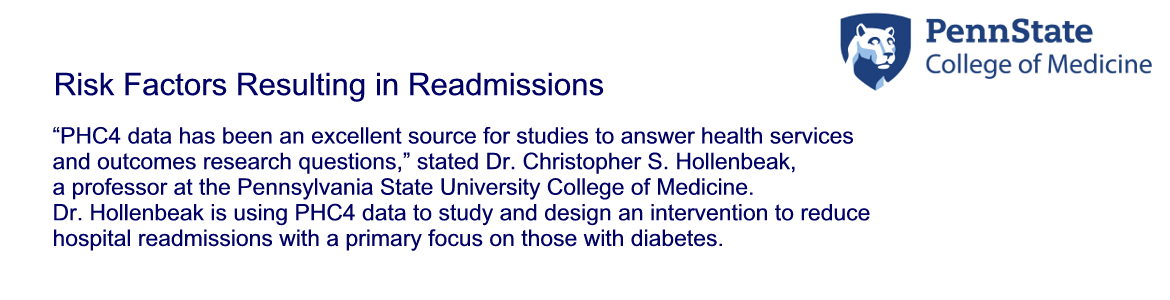 Risk Factors Resulting in Readmissions for Hospitalized Patients with Diabetes in Pennsylvania