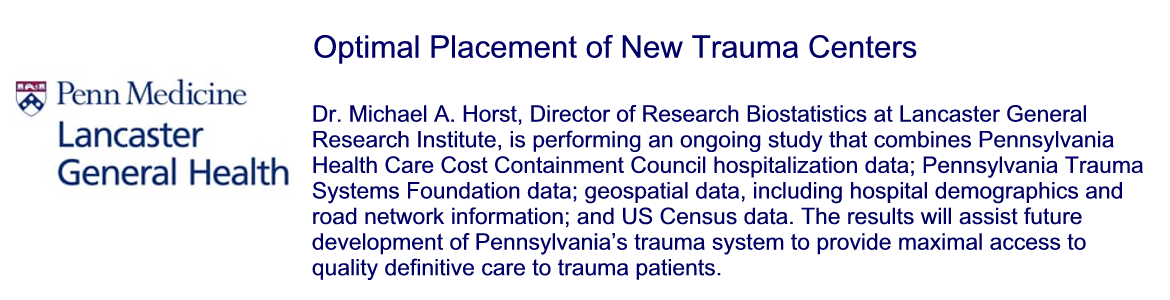Optimal Placement of New Trauma Centers within an Existing Trauma System