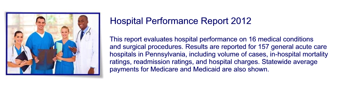 Hospital Performance Report 2012