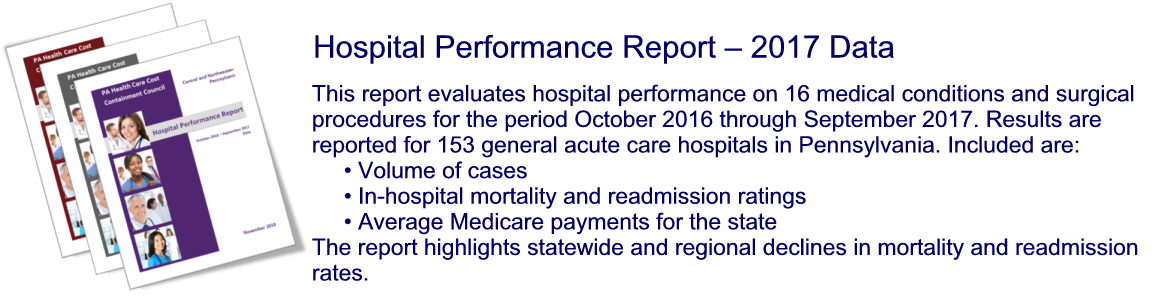 Hospital Performance Report - 2017 Data