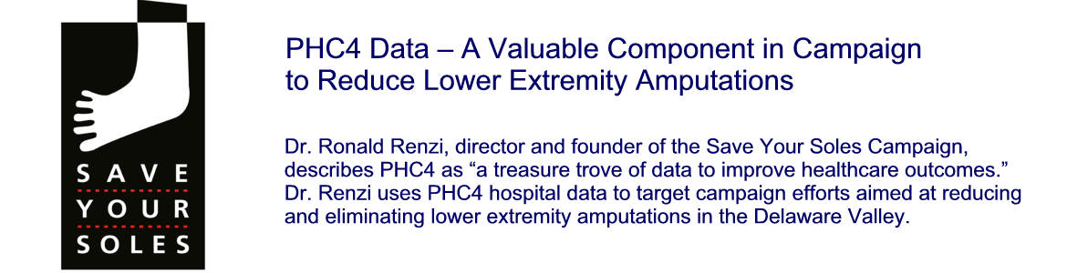 PHC4 Data - A Valuable Component in Campaign to Reduce Lower Extremity Amputations