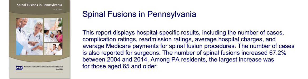 Spinal Fusion in Pennsylvania