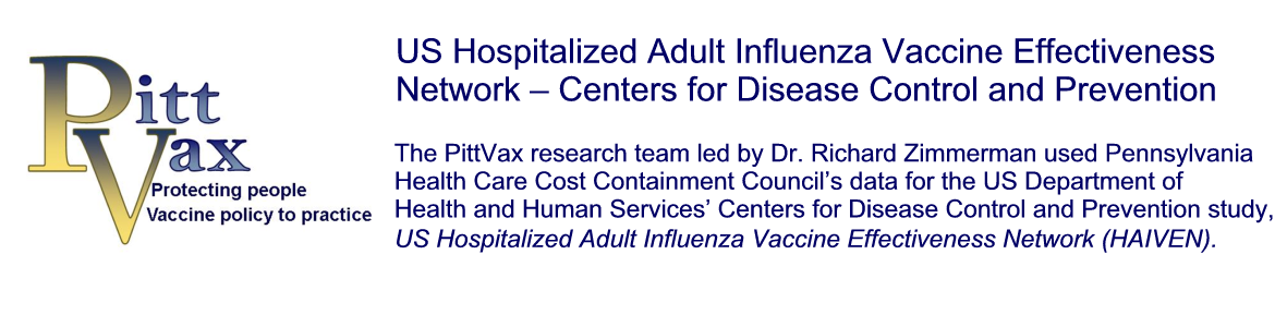 US Hospitalized Adult Influenza Vaccine Effectiveness Network – Centers for Disease Control and Prevention