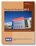 Financial Analysis 2013, Volume One, Generale Acute Care Hospitals cover