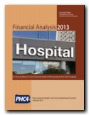 Financial Analysis 2013, Volume Three, Non-GAC Hospitals cover