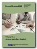 Financial Analysis 2014, Volume One, General Acute Care Hospitals Cover