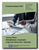 Financial Analysis 2014, Volume Three, Non-General Acute Care Hospitals