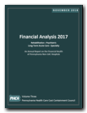 Financial Analysis 2017 - Volume Three - Non-General Acute Care Hospitals