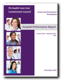Hospital Performance Report 2017 Cover