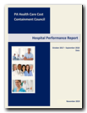 Hospital Performance Report 2018 Cover