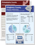 County Profiles – Hospital Admissions and Outpatient Procedures in FY2015 Cover